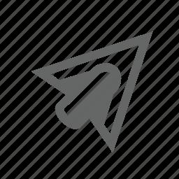 arrowhead, arrows, pike, shape, sharp, target, tip icon