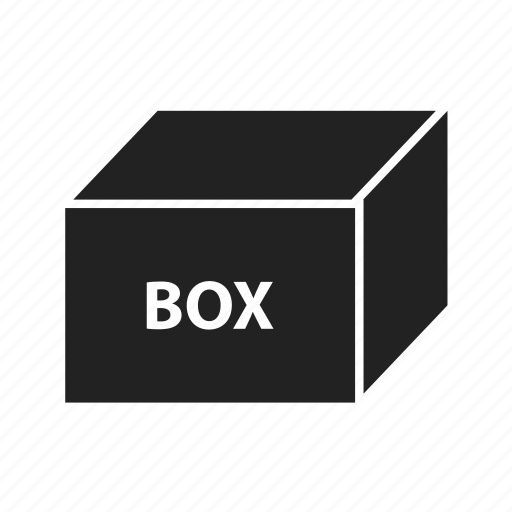box, cube, delivery, loading, package, product icon