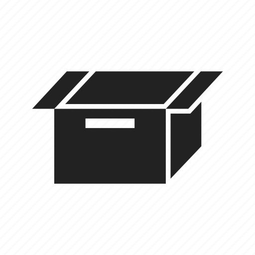 archive, arrow, box, cube, file, loading, package, paper, product icon