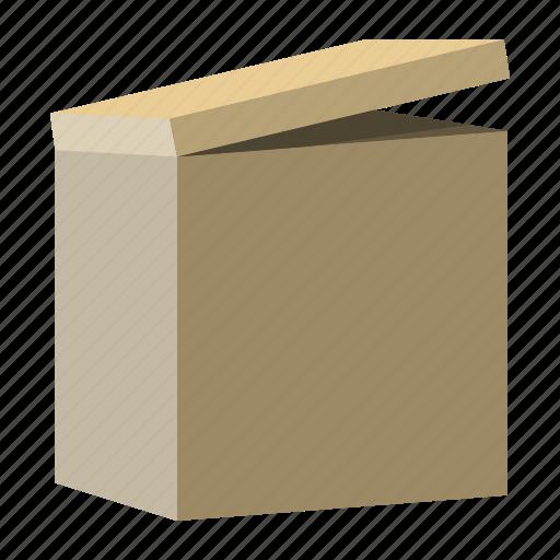box, cardboard, package, shipment icon