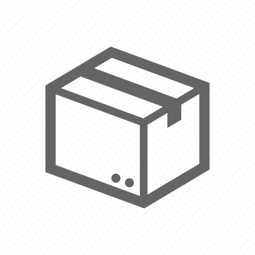 box, cargo, container icon