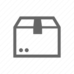 box, cargo, container, package icon