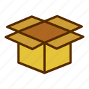 box, delivery, packaging, shipping icon