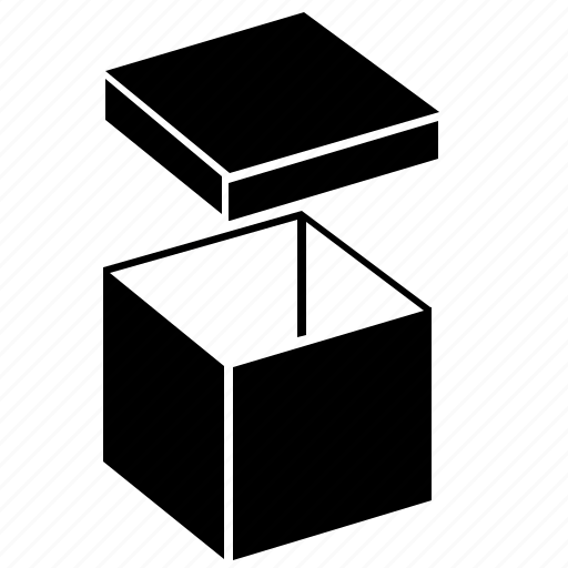 box, item, open, package icon