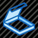 box, carton, package, pizza icon