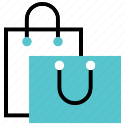 bag, buy, paper bag, retail, shop, shopping icon