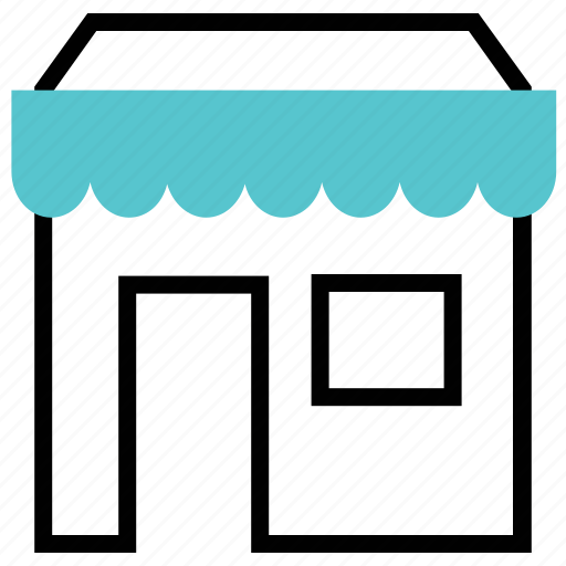 fair, house, sales, shop icon