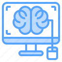 brain, computer, concept, mouse, thinking