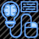 brain, innovation, mouse, speech, thinking