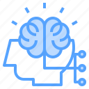brain, head, human, mindset, thinking