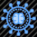 brain, conception, creative, network, share