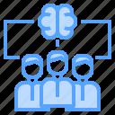 brain, human, mind, team, teamwork, thinking