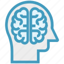 brain, head, human head, mind, neurology, thinking icon