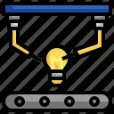invention, idea, light, bulb, electricity, illumination