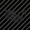 baritone, baritone horn, brass, instrument, music, music instrument, saxhorn icon