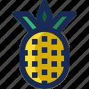 brazil, fresh, fruit, healthy, pineapple, tropical icon