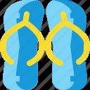 brazil, carnival, flip, flops, sandals, shoe icon