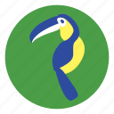 bird, macaw icon