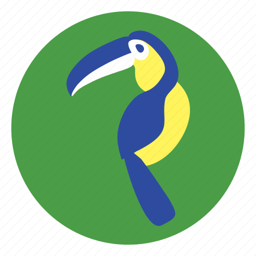 bird, macaw icon