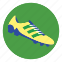football, shoe, soccer shoes icon