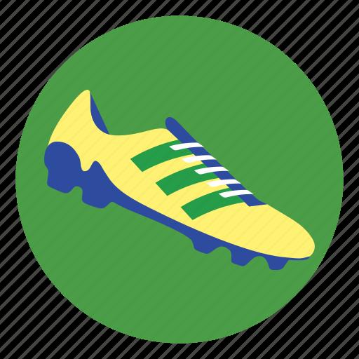 football, shoe, soccer shoes icon