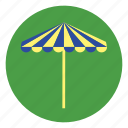 beach, holiday, sunshade, umbrella, vacation icon