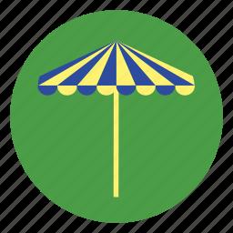 beach, holiday, sunshade, umbrella, vacation icon