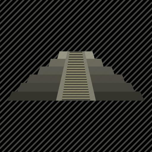 mexico, pyramid, ruin, temple, tourism, travel, yucatan icon