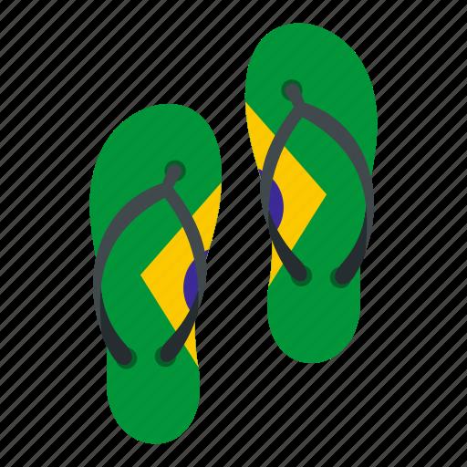 beach, brazil, brazilian, flip, flop, holiday, sandal icon