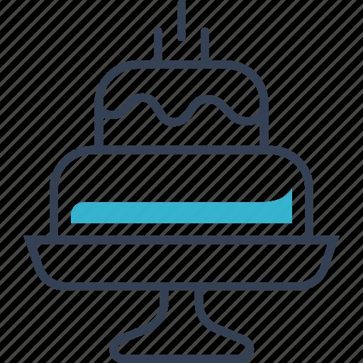 cake, flour, food, pie, product, sweetness icon