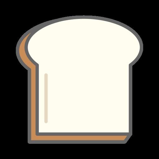 bread, food, toast icon