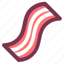 bacon, beef, breakfast, meal, meat icon