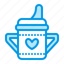 baby, bottle, food, mug icon