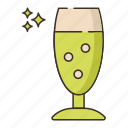 aviero, glass, goblet icon