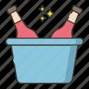 beer, brewery, bucket