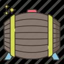 beer, brewery, cask