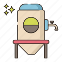 brewery, factory, fermentation icon