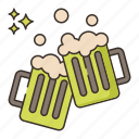 brewery, celebration, party icon