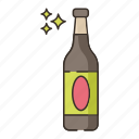 bottle, brewery, porter icon
