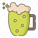 brewery, glass, seidel icon