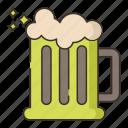 brewery, glass, stein icon