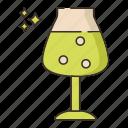 beer, glass, stemmed, teku