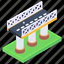 overpass, flyover, bridge, skyline bridge, viaduct