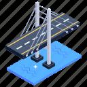 bridge, overpass, bridge architecture, oresund bridge, european bridge