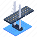 cable stayed bridge, incheon bridge, south korea bridge, bridge, overpass