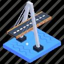 cable stayed bridge, overpass, bridge, rach mieu bridge, veitnam bridge