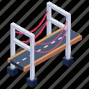 overpass, bridge, viaduct, la salve, puente de la salve