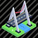 overpass, bridge, viaduct, suspension bridge, chavanon viaduct bridge