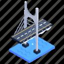 bridge, overpass, viaduct, eleanor schonell bridge, green bridge