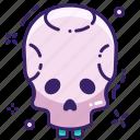 dead, skeleton, scull